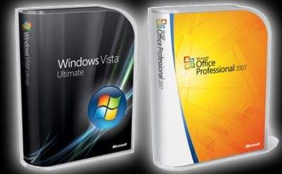 Windows Vista Ultimate i Microsoft Office Professional 2007