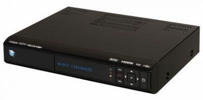 nbox recorder prezentuje się elegancko i jest zbudowany z dobrych tworzyw