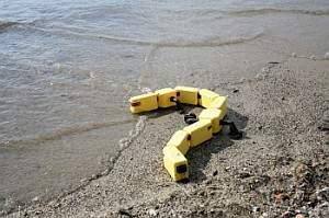 Robot naśladujący ruchy salamandry potrafi poruszać się i po lądzie, i po wodzie.