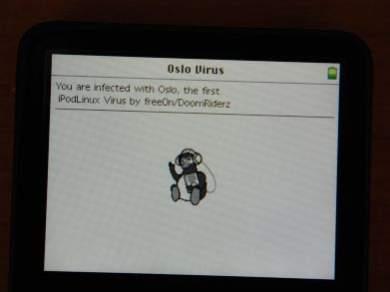 """""""Zainfekowany"""" iPod"""