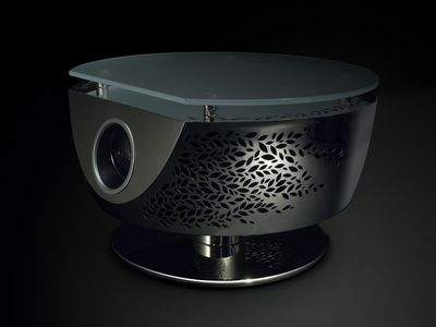 """""""TSUKI"""" Table with Built - in Projector"""