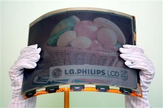 14,1-calowy kolorowy E-papier od LG.Philips LCD