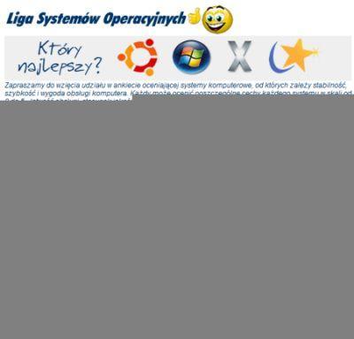 Liga systemów operacyjnych