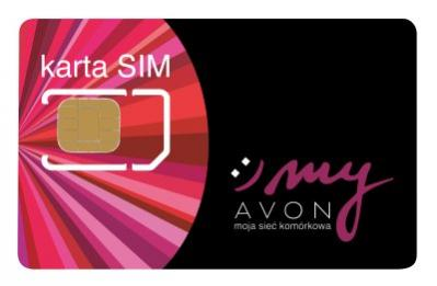 Wygląd karty SIM myAvon