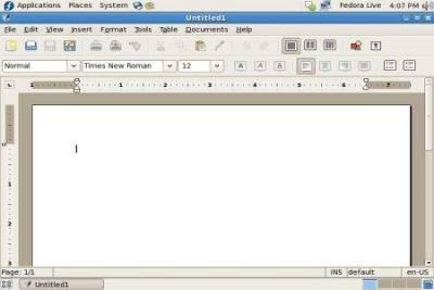 Abiword zamiast OpenOffice.org