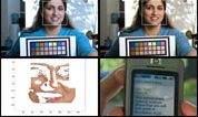 Technologia HP - wykonanie zdjęcia z wzorcem