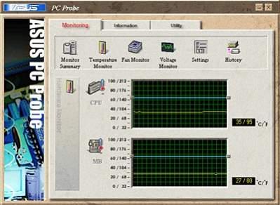 Program diagnostyczny PC Probe