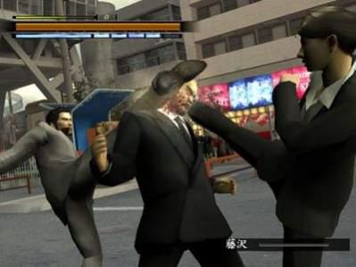 Screen z Yakuza 2