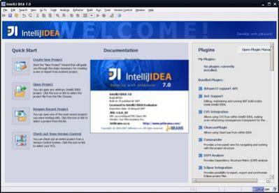 IntelliJ IDEA 7.0