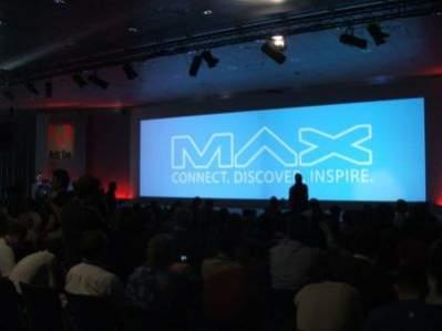 Za chwilę rozpocznie się pierwsza z dwóch sesji generalnych konferencji Adobe MAX Europe.