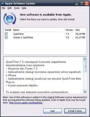 Automatyczna aktualizacja pod Windows