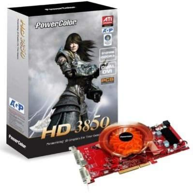 PowerColor HD 3850 w wersji AGP