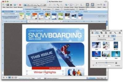 Publishing Layout View - nowość w Wordzie 2008 dla Maka