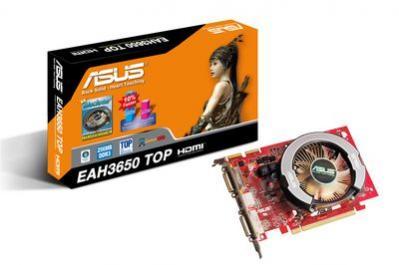 Asus EAH3650 TOP/HTDI/256M