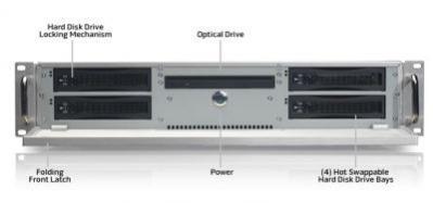 HDMS z otwartym przednim panelem