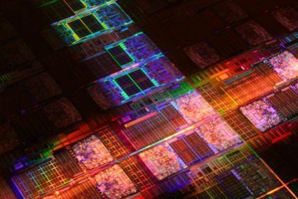 Rdzeń procesora 6-rdzenowego Dunnington