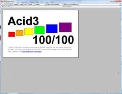 Acid3 w deweloperskim buildzie silnika Opery (źródło: My.opera.com)