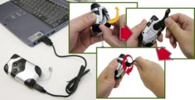 Odtwarzacz MP3 firmy Thanko