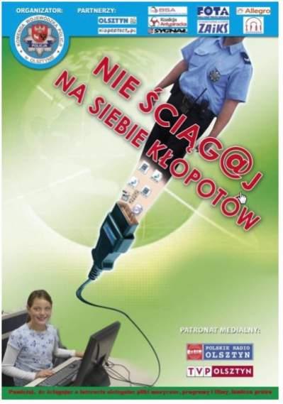 Afisz reklamujący akcję