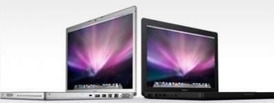 Obecny wygląd notebooków Apple. Po lewej MacBook Pro, po prawej - MacBook