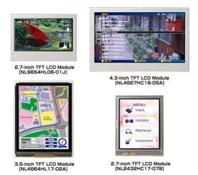 Nowe moduły firmy NEC LCD Technologies