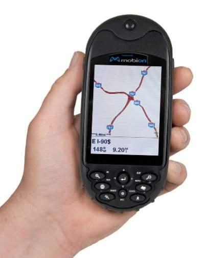 Odbiornik GPS marki Mobion (źródło: MTI Micro)