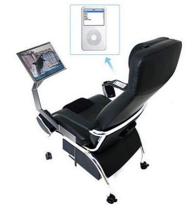 Fotel iMedia firmy Empower Technologies