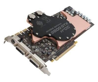 BFG NVIDIA GeForce 9800 GTX H2OC 512MB