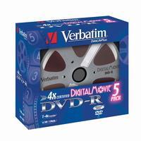 Płyty DVD Verbatim Digital Movie