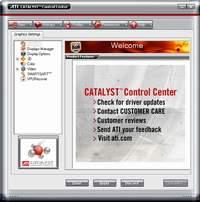 Ekran główny panelu starowania CCC