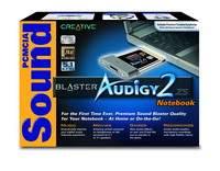Karta dźwiękowa Sound Blaster Audigy2 ZS Notebook - pudełko