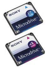Dyski Microdrive od Sony